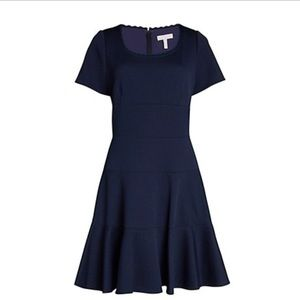 Rebecca Taylor Chevron Casual Dress B199